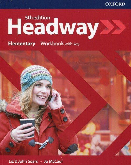 Headway 5E Elementary WB + key - okładka podręcznika
