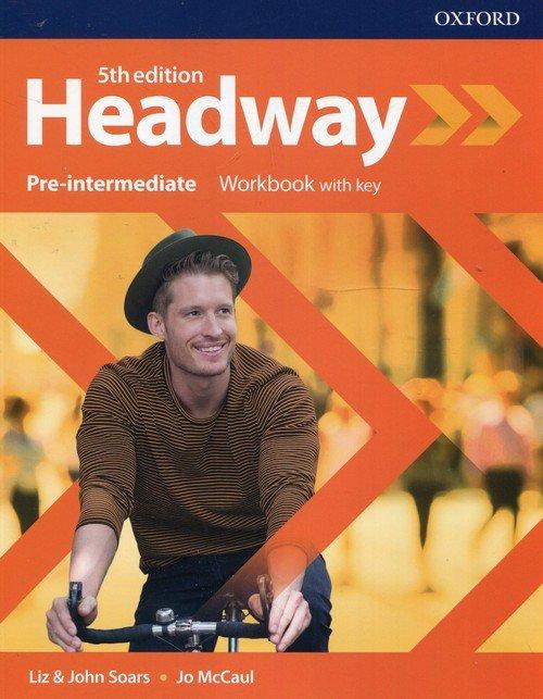 Headway 5E Pre-intermediate WB - okładka podręcznika
