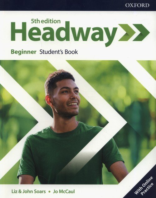 Headway Beginner Students Book - okładka podręcznika