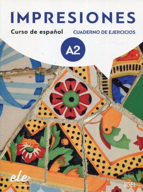 Impresiones A2. Ćwiczenia (+ CD) - okładka podręcznika