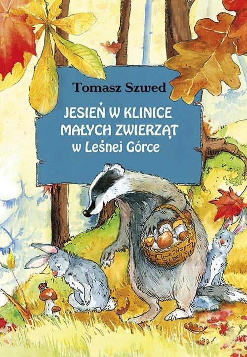 Jesień w Klinice Małych Zwierząt - okładka książki