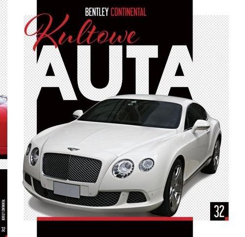 Kultowe Auta 32. Bentley Continental - okładka książki