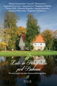 Lato w Pensjonacie pod Bukami - okładka książki