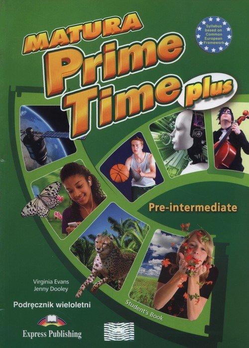 Matura Prime Time Plus Pre-intermediate - okładka podręcznika