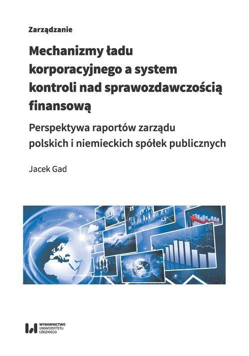 Mechanizmy ładu korporacyjnego - okładka książki