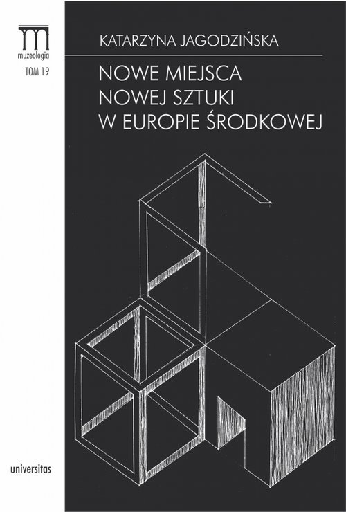 Nowe miejsca nowej sztuki w Europie - okładka książki