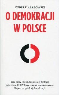 O demokracji w Polsce - okładka książki