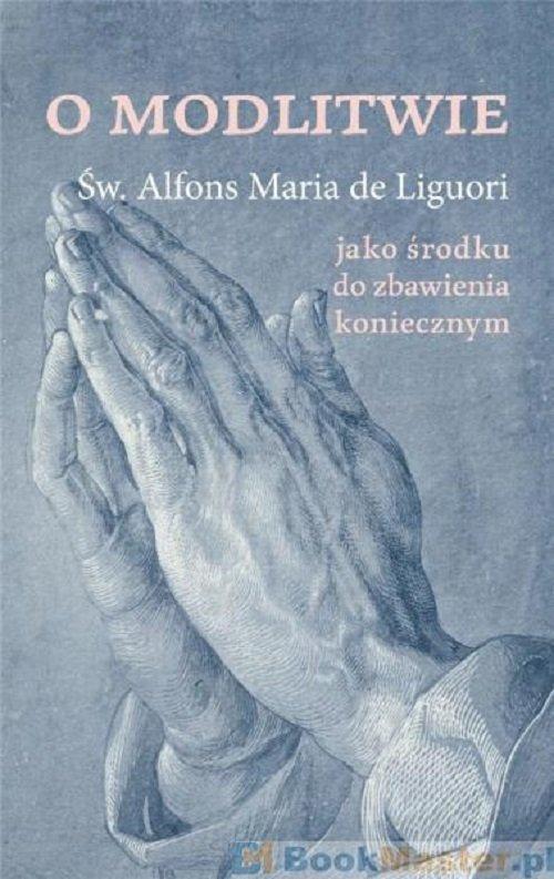 O modlitwie - okładka książki