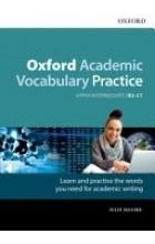 Oxford Academic Vocabulary Practice - okładka podręcznika