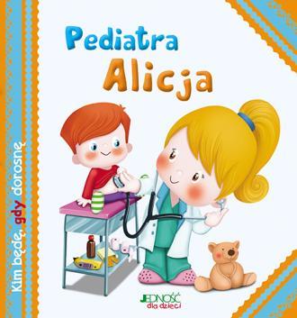 Pediatra Alicja - okładka książki