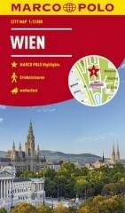 Plan Miasta Marco Polo. Wiedeń - okładka książki