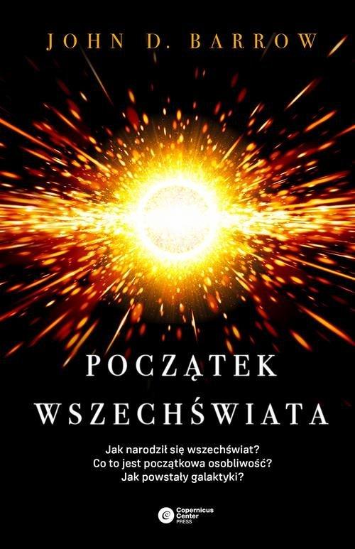 Początek wszechświata - okładka książki
