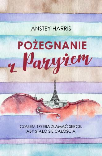 Pożegnanie z Paryżem - okładka książki
