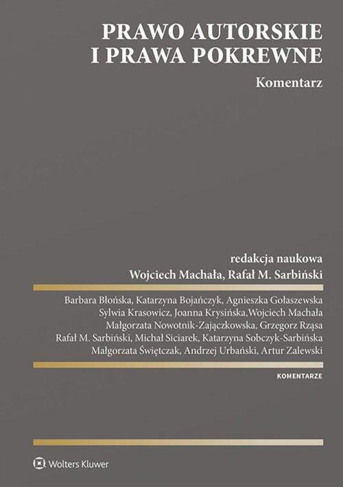 Prawo autorskie i prawa pokrewne - okładka książki