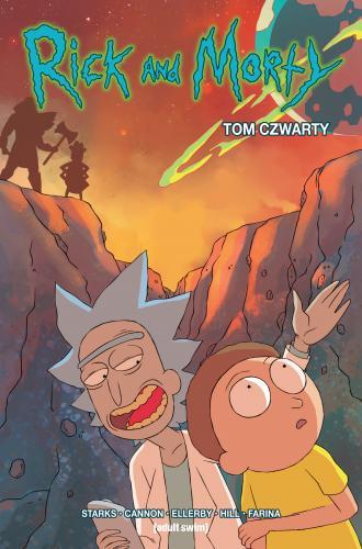 Rick i Morty. Tom 4 - okładka książki