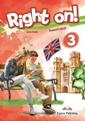 Right on! 3 SB + Interactive eBook - okładka podręcznika