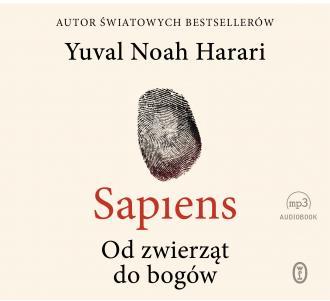 Sapiens. Od zwierząt do bogów - pudełko audiobooku