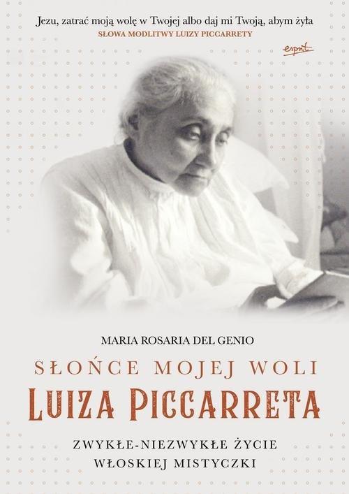 Słońce mojej woli Luiza Piccarreta. - okładka książki