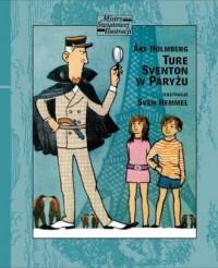 Ture Sventon w Paryżu - okładka książki