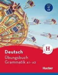 Ubungsbuch Grammatik A1A2 HUEBER - okładka podręcznika