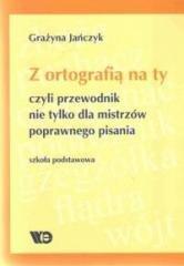 Z ortografią na ty, czyli przewodnik - okładka podręcznika