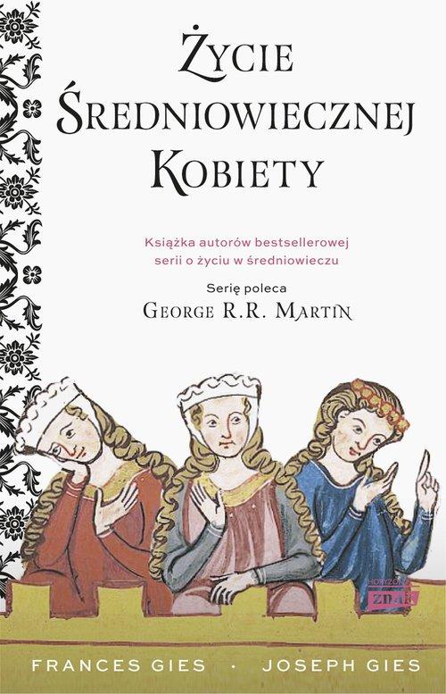 Życie średniowiecznej kobiety - okładka książki