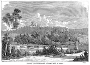 Bielany pod Krakowem - zdjęcie reprintu, mapy