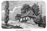 Dom we wsi Zielonki pod Krakowem - zdjęcie reprintu, mapy