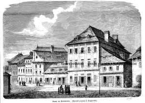 Domy na Kazimierzu - zdjęcie reprintu, mapy