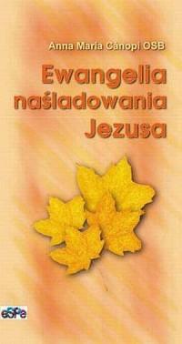 Ewangelia naśladowania Jezusa - okładka książki