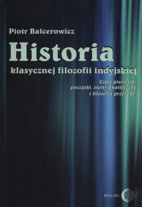 Historia klasycznej filozofii indyjskiej. - okładka książki