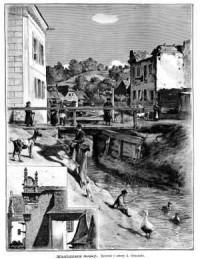 Kazimierz Dolny - zdjęcie reprintu, mapy
