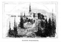 Klasztor Świętokrzyski (rycina) - zdjęcie reprintu, mapy