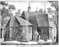 Kościół w Truskolasach - zdjęcie reprintu, mapy