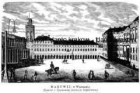 Marywil w Warszawie - zdjęcie reprintu, mapy