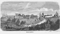 Miasto Szydłów - zdjęcie reprintu, mapy