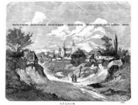 Opatów - zdjęcie reprintu, mapy