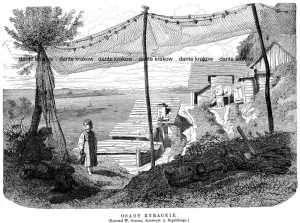 Osady rybackie - zdjęcie reprintu, mapy