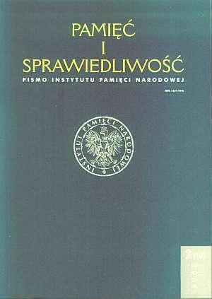 Pamięć i sprawiedliwość nr 2/2006 - okładka książki