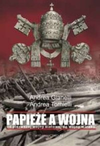 Papieże a wojna - okładka książki