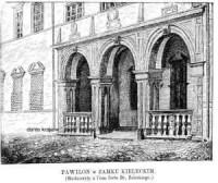 Pawilon w Zamku Kieleckim - zdjęcie reprintu, mapy