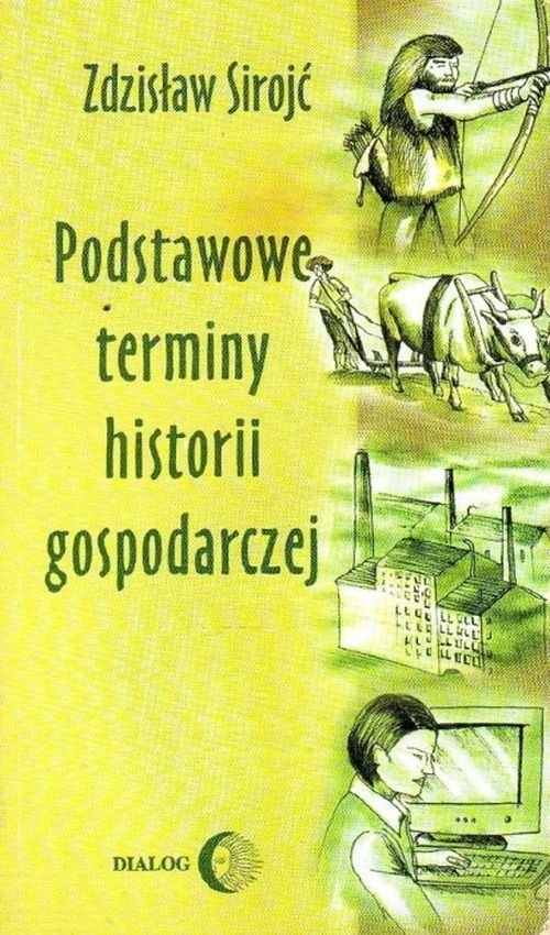 Podstawowe terminy historii gospodarczej - okładka książki