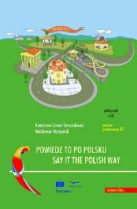 Powiedz to po polsku  Say it the Polish Way (+ CD) - okładka podręcznika