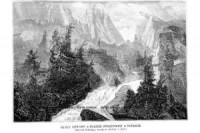 Skały Gewont w Dolinie Strążyskiej - zdjęcie reprintu, mapy