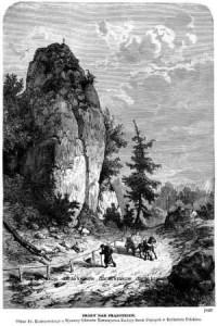 Skały nad Prądnikiem - zdjęcie reprintu, mapy