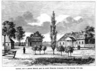 Smolchów, wieś w guberni Mińskiej, gdzie urodził się Władysław Syrokomla - zdjęcie reprintu, mapy