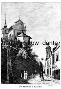 Ulica Maryensztat w Warszawie - zdjęcie reprintu, mapy