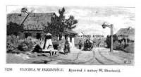 Uliczka w Przemyślu - zdjęcie reprintu, mapy
