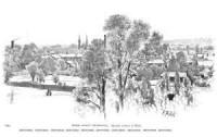 Widok ogólny Ciechocinka - Ksawery Pillati - zdjęcie reprintu, mapy