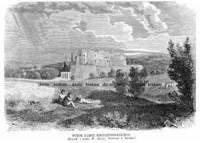 Widok Zamku Krzysztoporskiego - zdjęcie reprintu, mapy